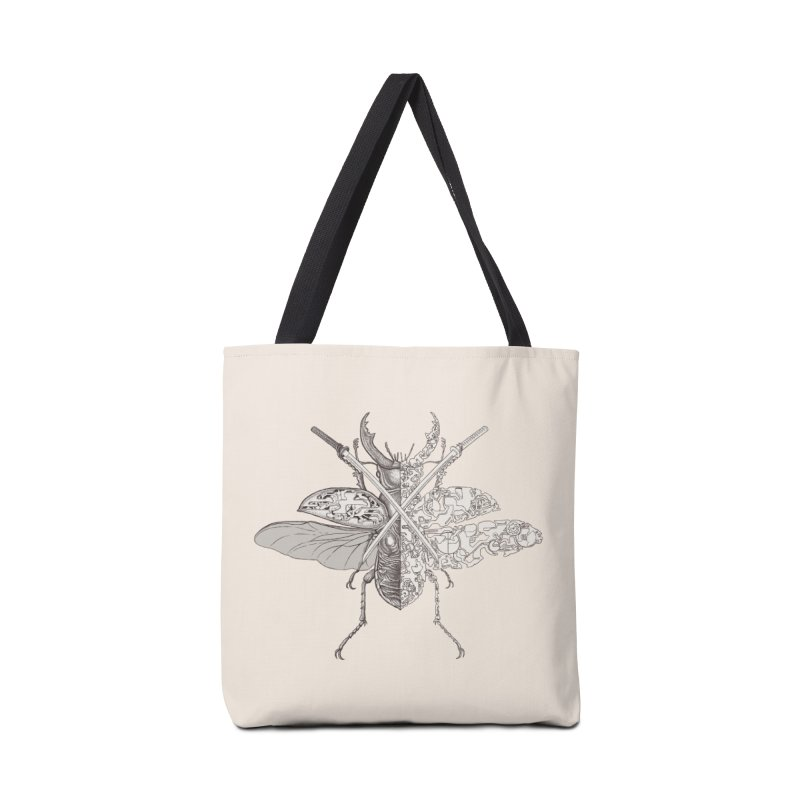 stag beetle samurai Accessories Bag by makapa's Artist Shop