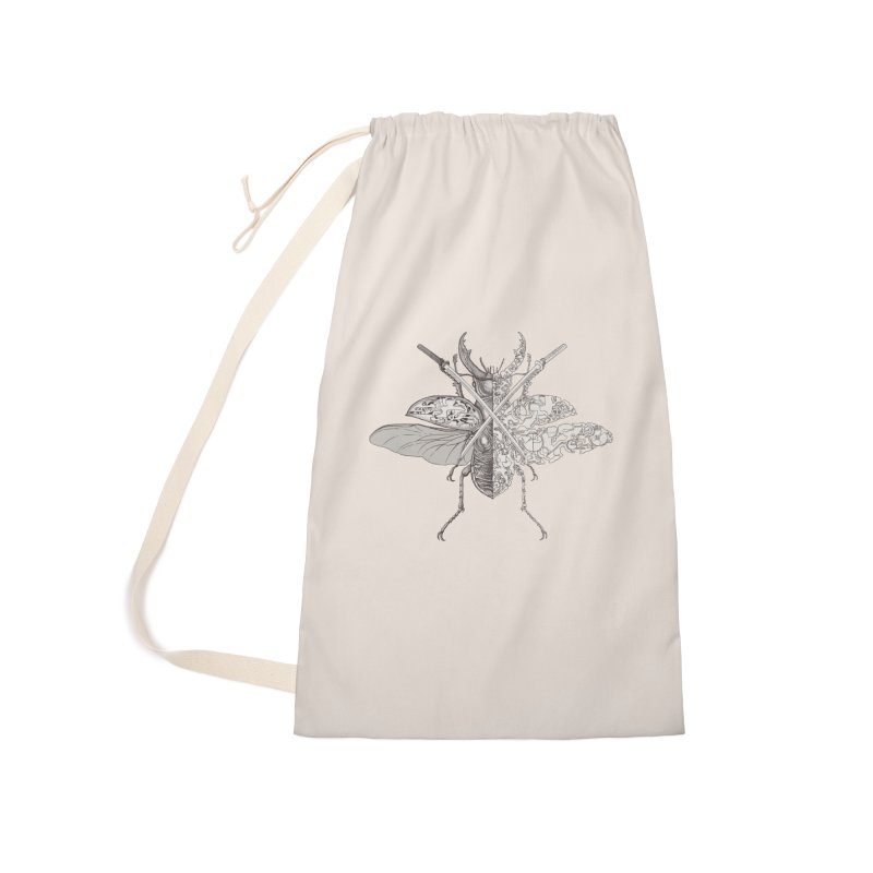 stag beetle samurai Accessories Laundry Bag Bag by makapa's Artist Shop