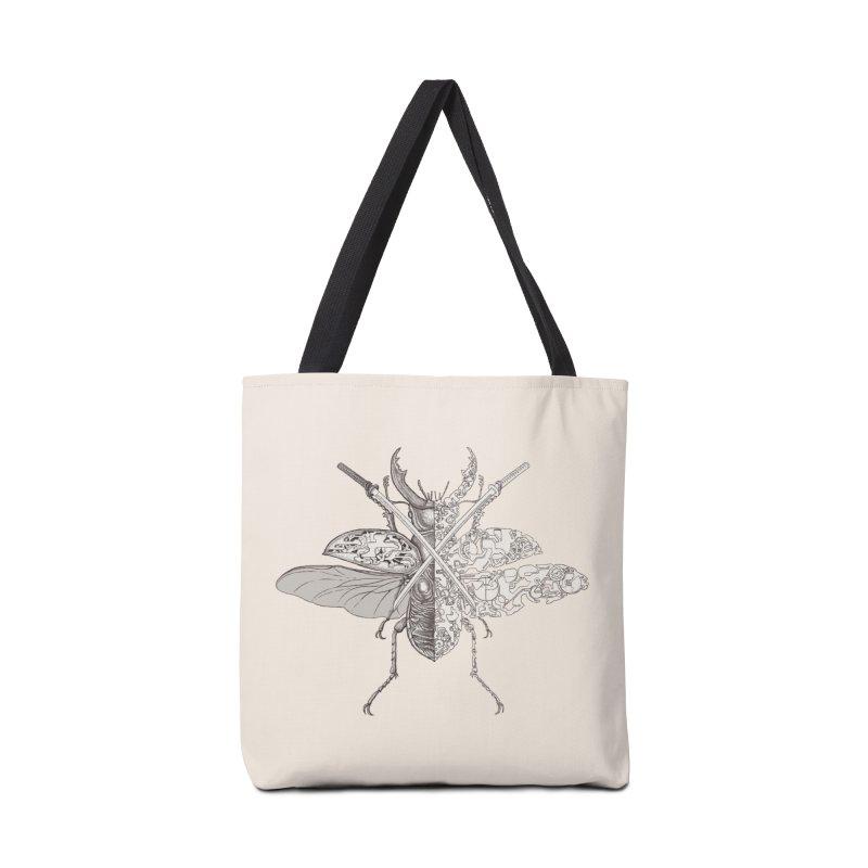 stag beetle samurai Accessories Bag by makapa's Artist Shop
