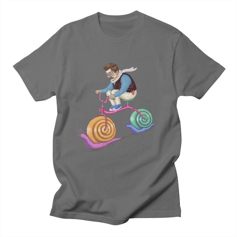 snails bike teen spirit Men's T-Shirt by makapa's Artist Shop