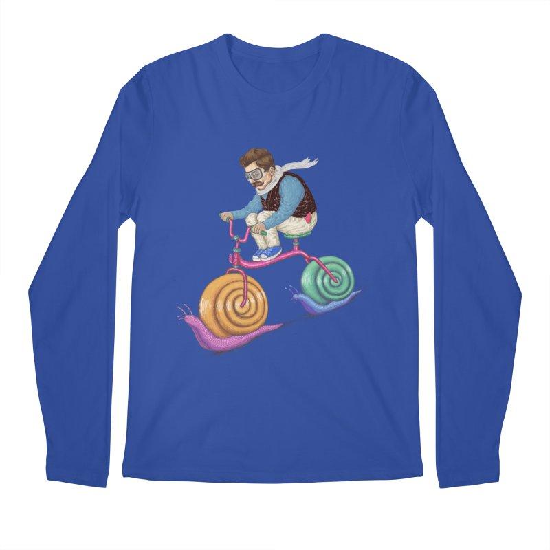 snails bike teen spirit Men's Longsleeve T-Shirt by makapa's Artist Shop