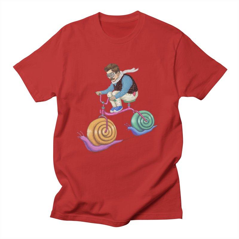 snails bike teen spirit Women's Unisex T-Shirt by makapa's Artist Shop