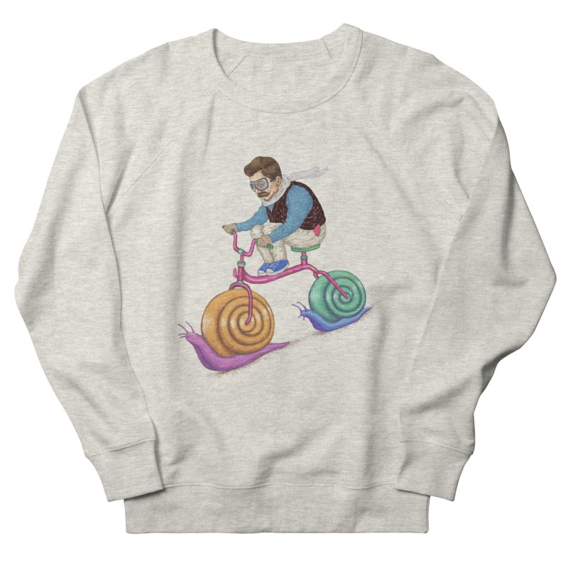 snails bike teen spirit Men's Sweatshirt by makapa's Artist Shop