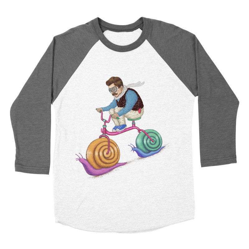 snails bike teen spirit Men's Baseball Triblend T-Shirt by makapa's Artist Shop