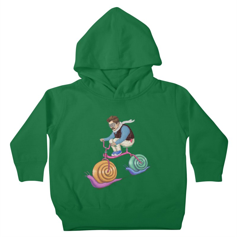 snails bike teen spirit Kids Toddler Pullover Hoody by makapa's Artist Shop
