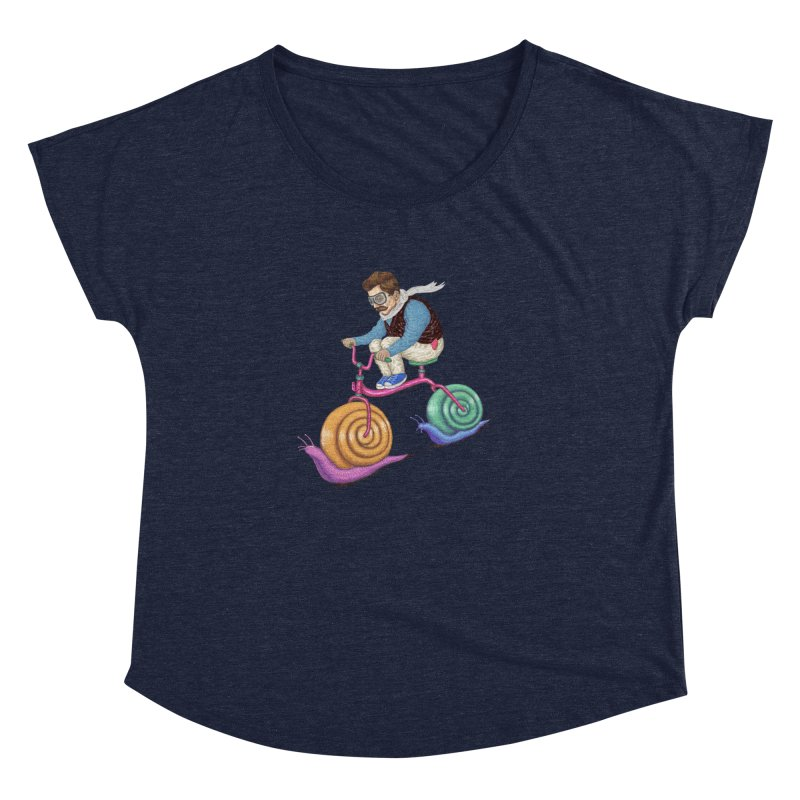 snails bike teen spirit Women's Dolman by makapa's Artist Shop
