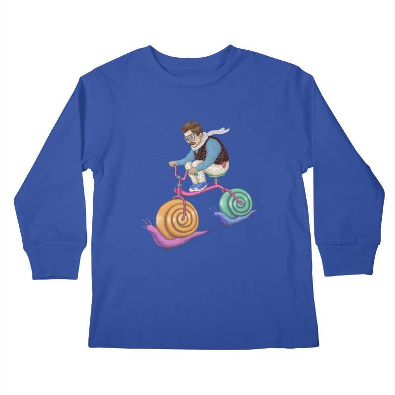 snails bike teen spirit Kids Longsleeve T-Shirt by makapa's Artist Shop