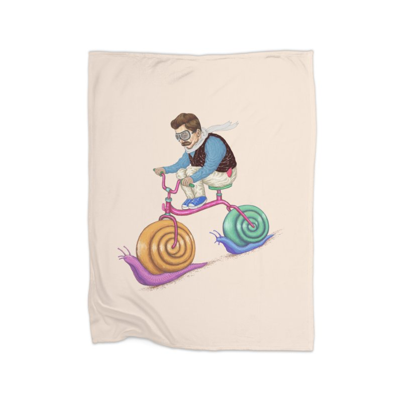 snails bike teen spirit Home Blanket by makapa's Artist Shop