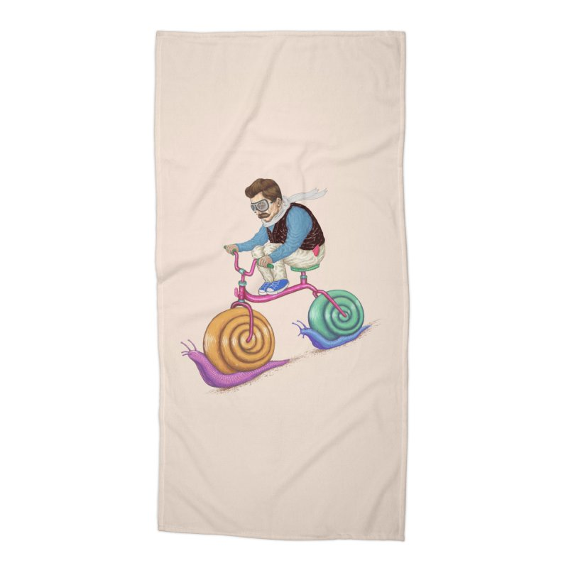 snails bike teen spirit Accessories Beach Towel by makapa's Artist Shop
