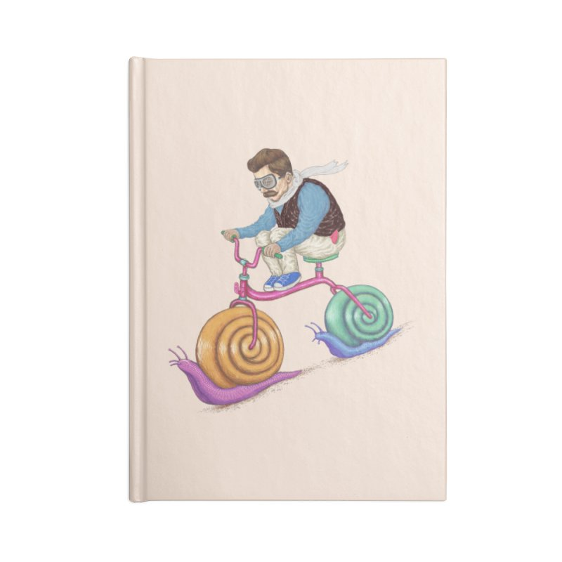 snails bike teen spirit Accessories Notebook by makapa's Artist Shop