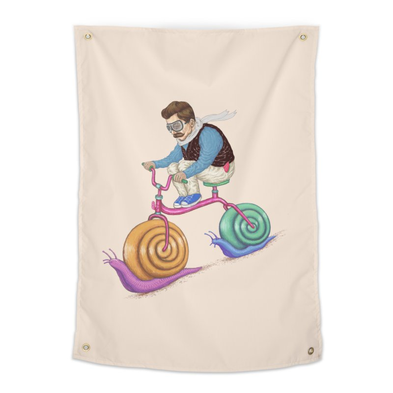 snails bike teen spirit Home Tapestry by makapa's Artist Shop