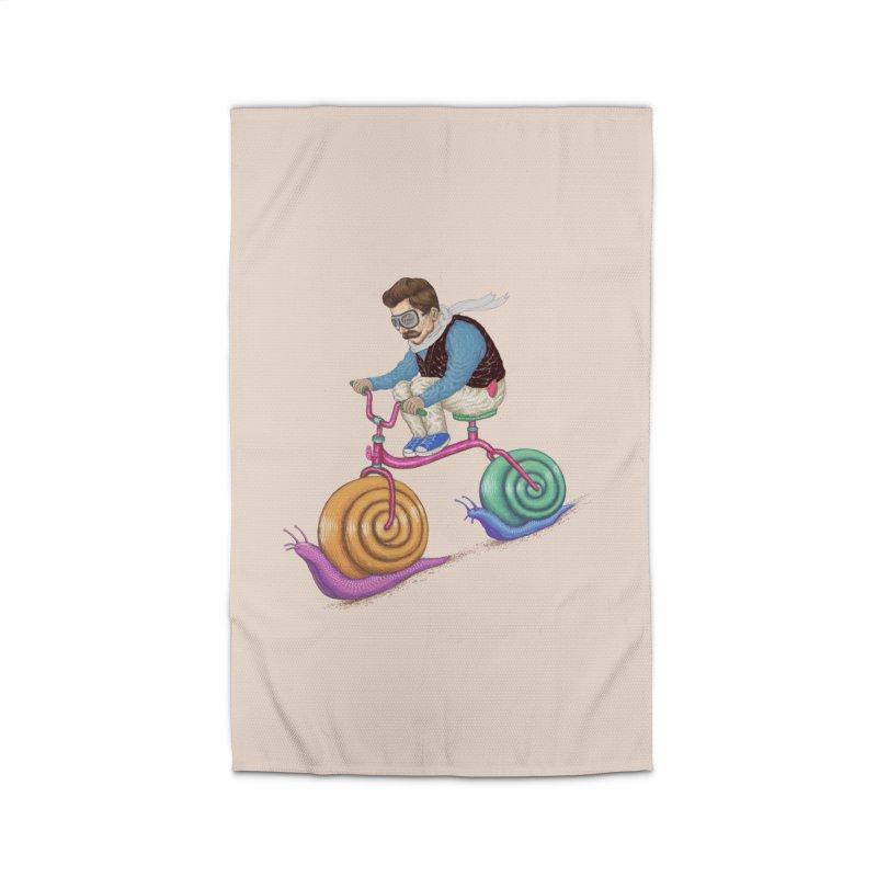 snails bike teen spirit Home Rug by makapa's Artist Shop