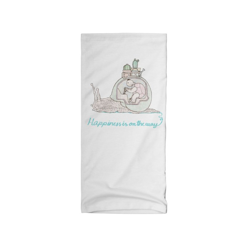 happiness is on the way Accessories Neck Gaiter by makapa's Artist Shop