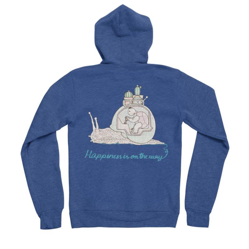 happiness is on the way Women's Zip-Up Hoody by makapa's Artist Shop