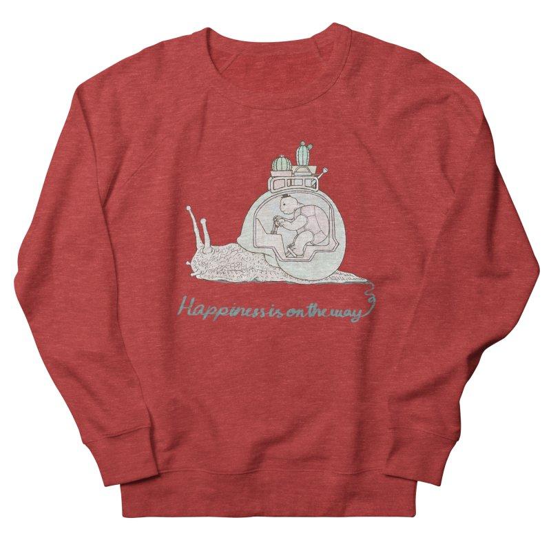 happiness is on the way Men's Sweatshirt by makapa's Artist Shop