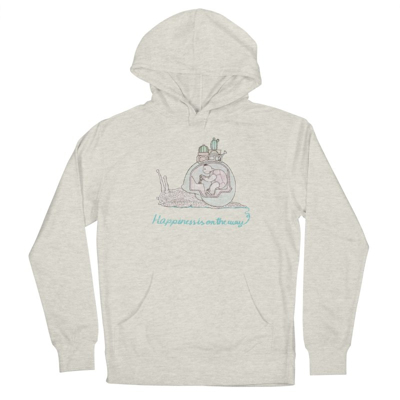 happiness is on the way Men's Pullover Hoody by makapa's Artist Shop
