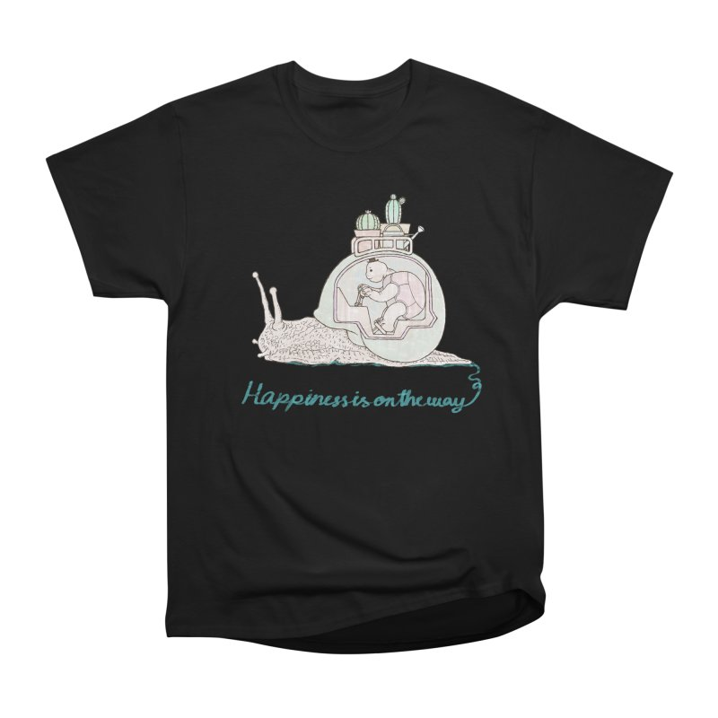 happiness is on the way Women's T-Shirt by makapa's Artist Shop