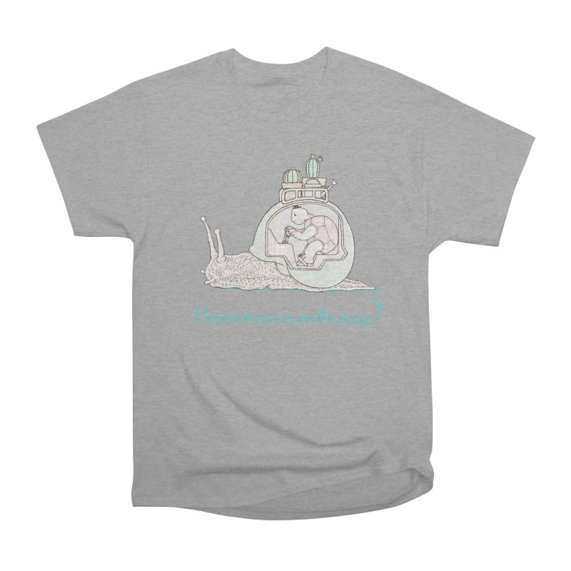 happiness is on the way Men's Heavyweight T-Shirt by makapa's Artist Shop