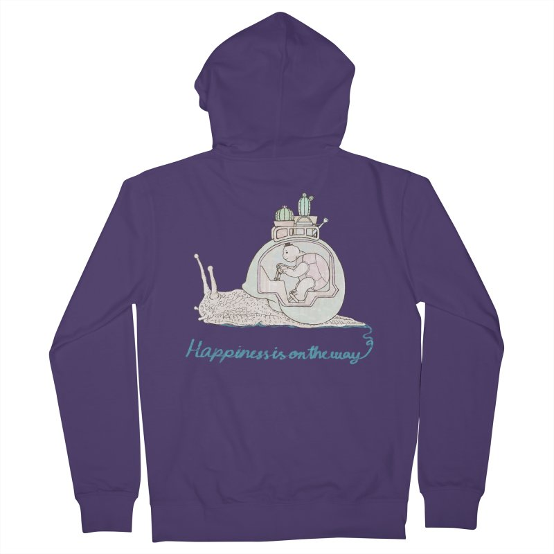 happiness is on the way Women's Zip-Up Hoody by makapa's Artist Shop
