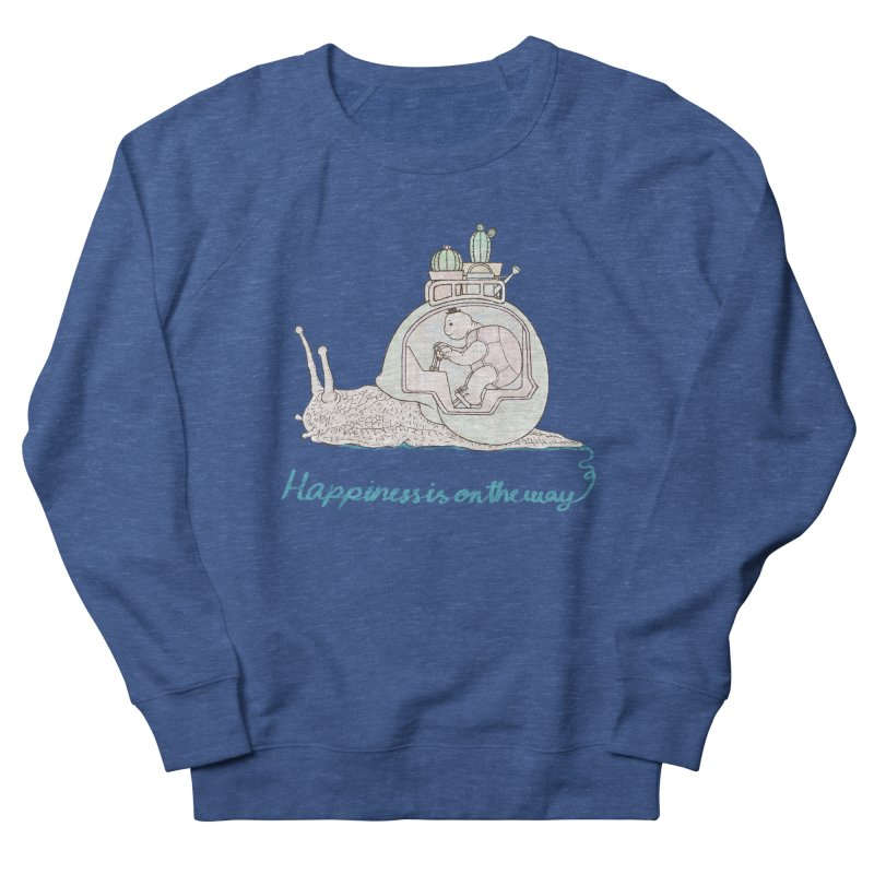 happiness is on the way Women's Sweatshirt by makapa's Artist Shop