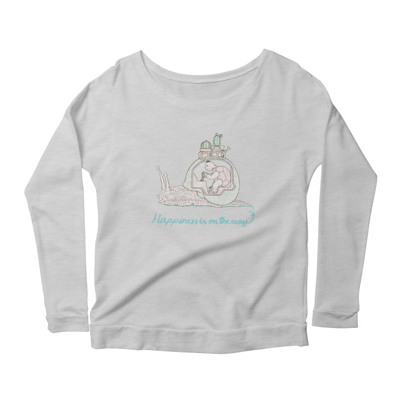 happiness is on the way Women's Longsleeve T-Shirt by makapa's Artist Shop