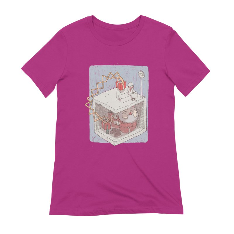 magic gift Women's Extra Soft T-Shirt by makapa's Artist Shop