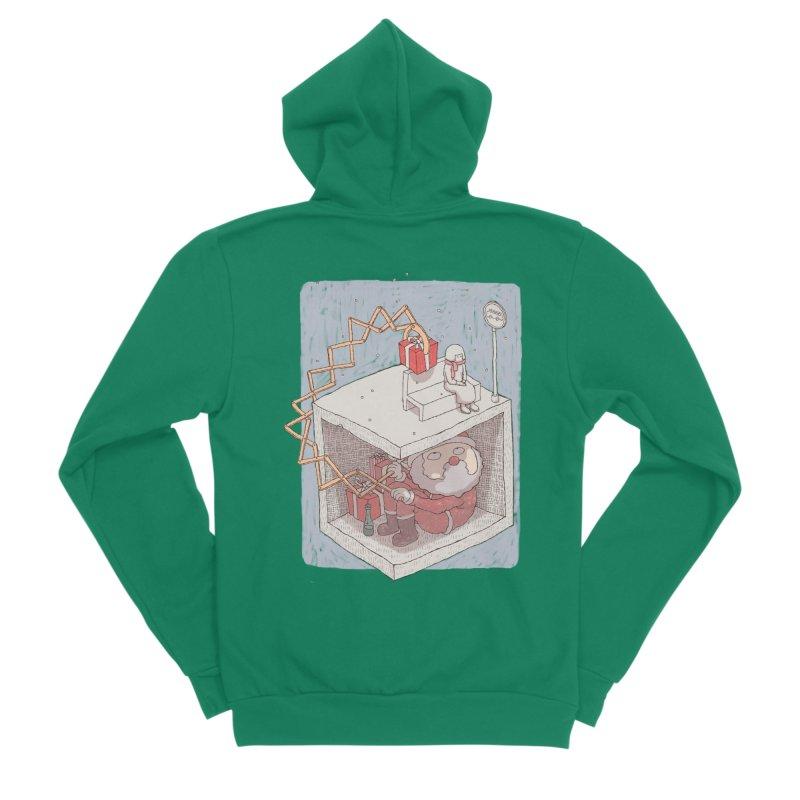 magic gift Men's Sponge Fleece Zip-Up Hoody by makapa's Artist Shop