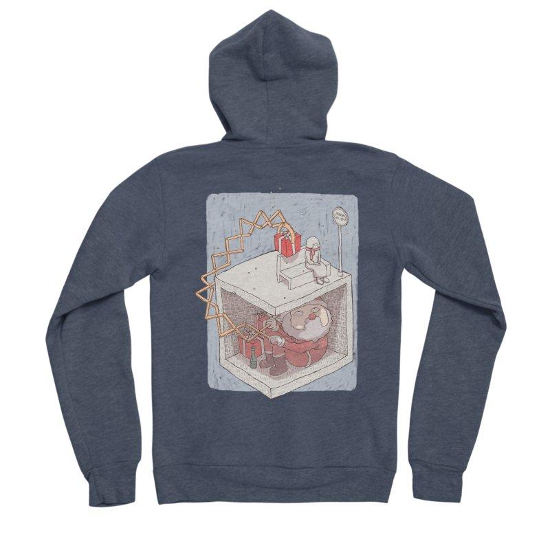 magic gift Women's Sponge Fleece Zip-Up Hoody by makapa's Artist Shop