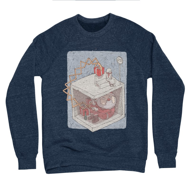 magic gift Men's Sponge Fleece Sweatshirt by makapa's Artist Shop