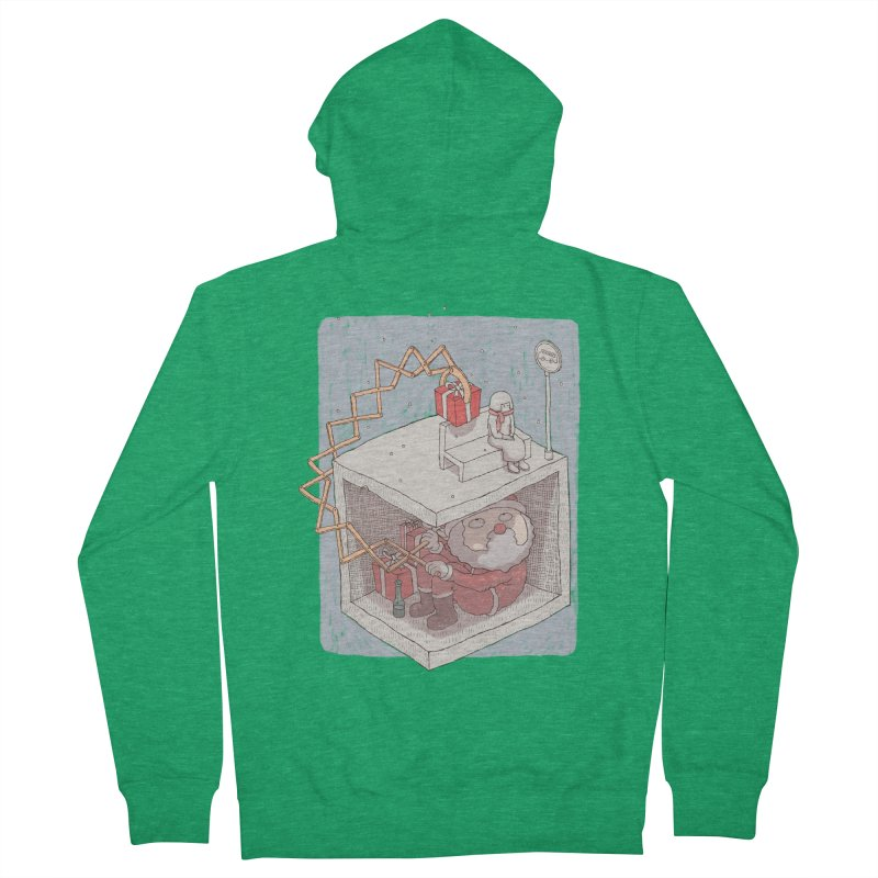 magic gift Men's Zip-Up Hoody by makapa's Artist Shop
