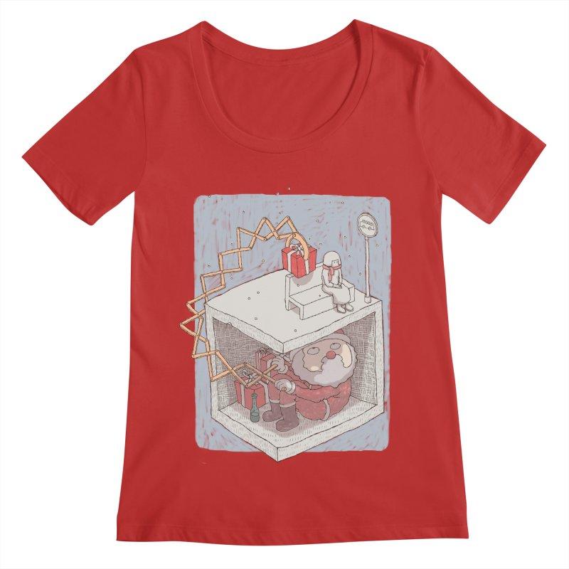 magic gift Women's Scoop Neck by makapa's Artist Shop