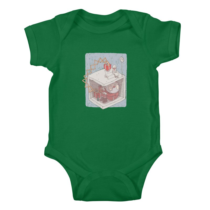 magic gift Kids Baby Bodysuit by makapa's Artist Shop