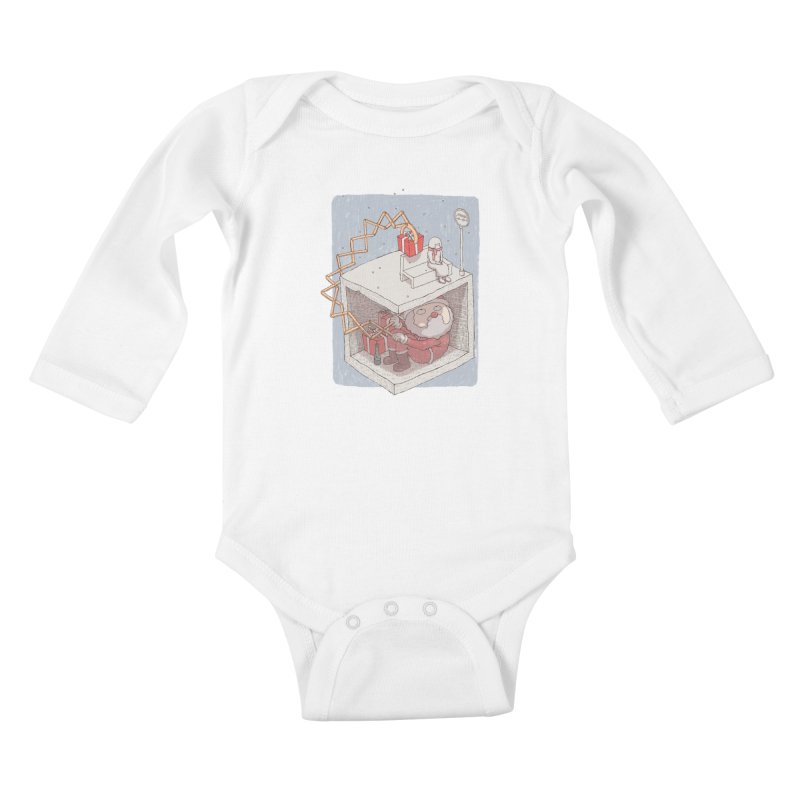 magic gift Kids Baby Longsleeve Bodysuit by makapa's Artist Shop
