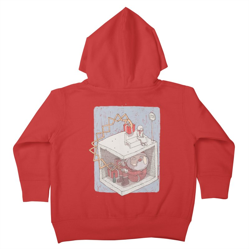magic gift Kids Toddler Zip-Up Hoody by makapa's Artist Shop