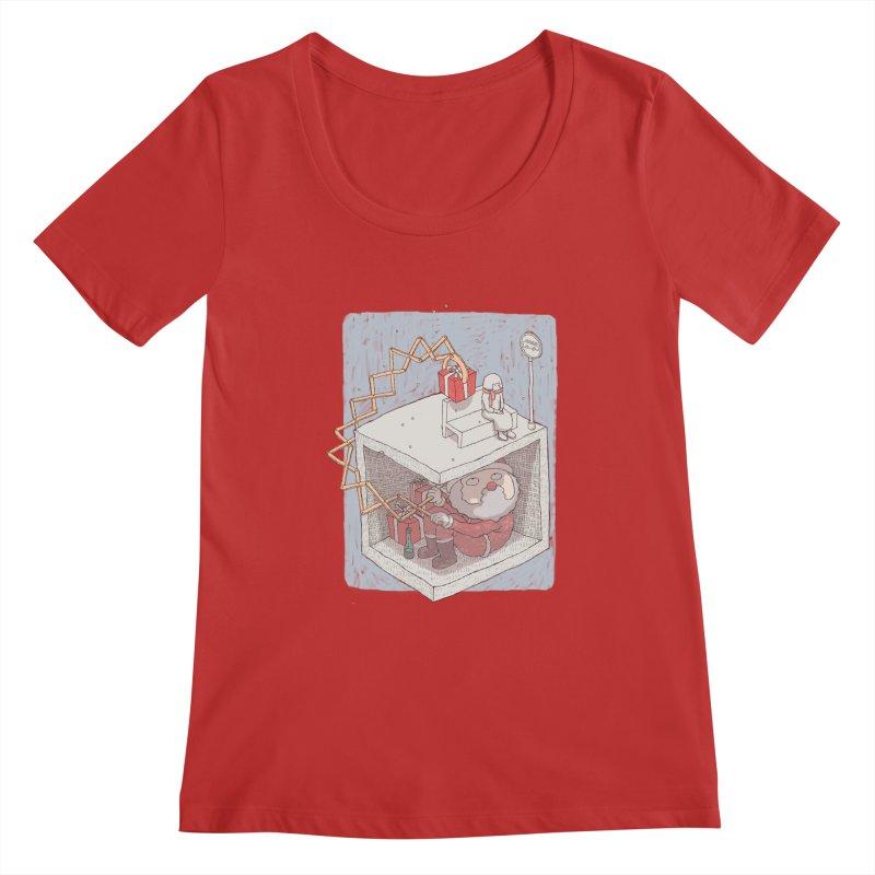 magic gift Women's Regular Scoop Neck by makapa's Artist Shop