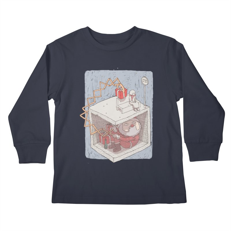 magic gift Kids Longsleeve T-Shirt by makapa's Artist Shop