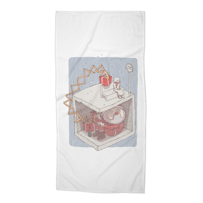 magic gift Accessories Beach Towel by makapa's Artist Shop