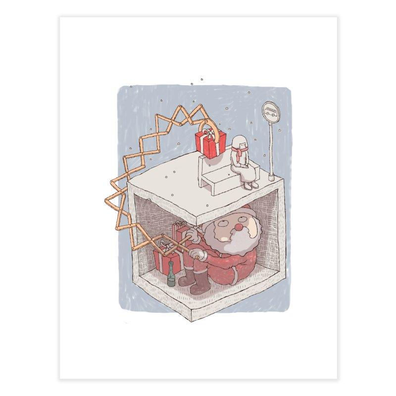 magic gift Home Fine Art Print by makapa's Artist Shop