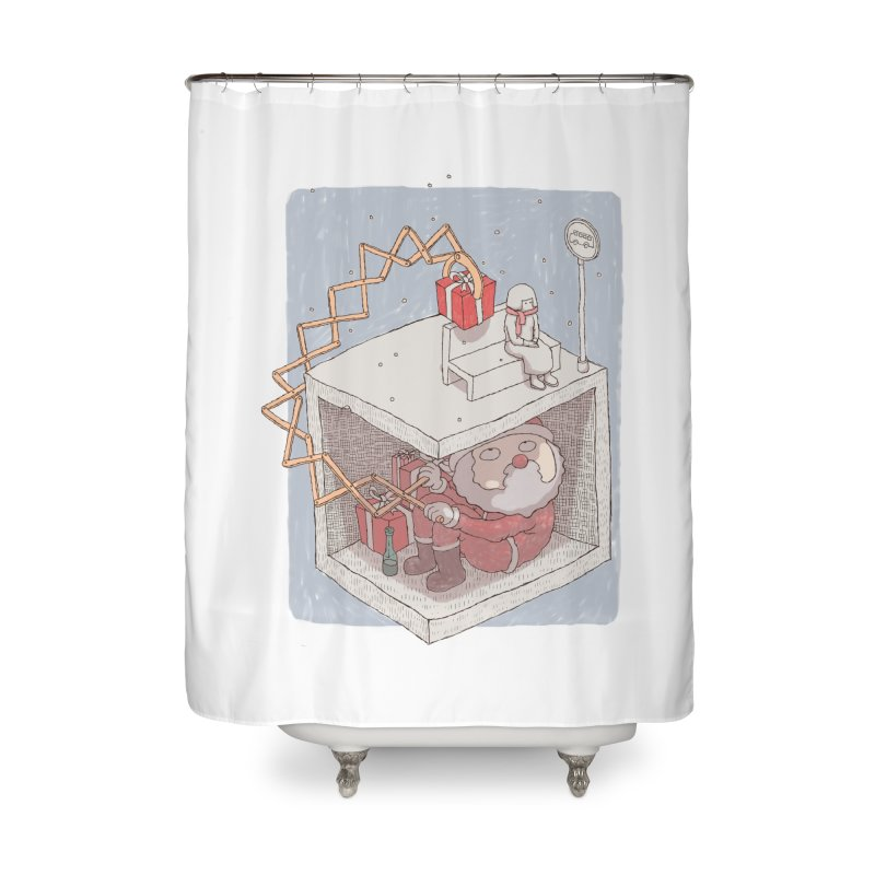 magic gift Home Shower Curtain by makapa's Artist Shop