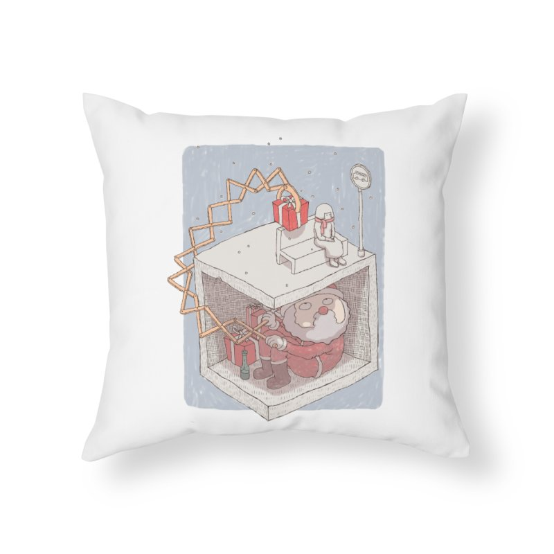 magic gift Home Throw Pillow by makapa's Artist Shop