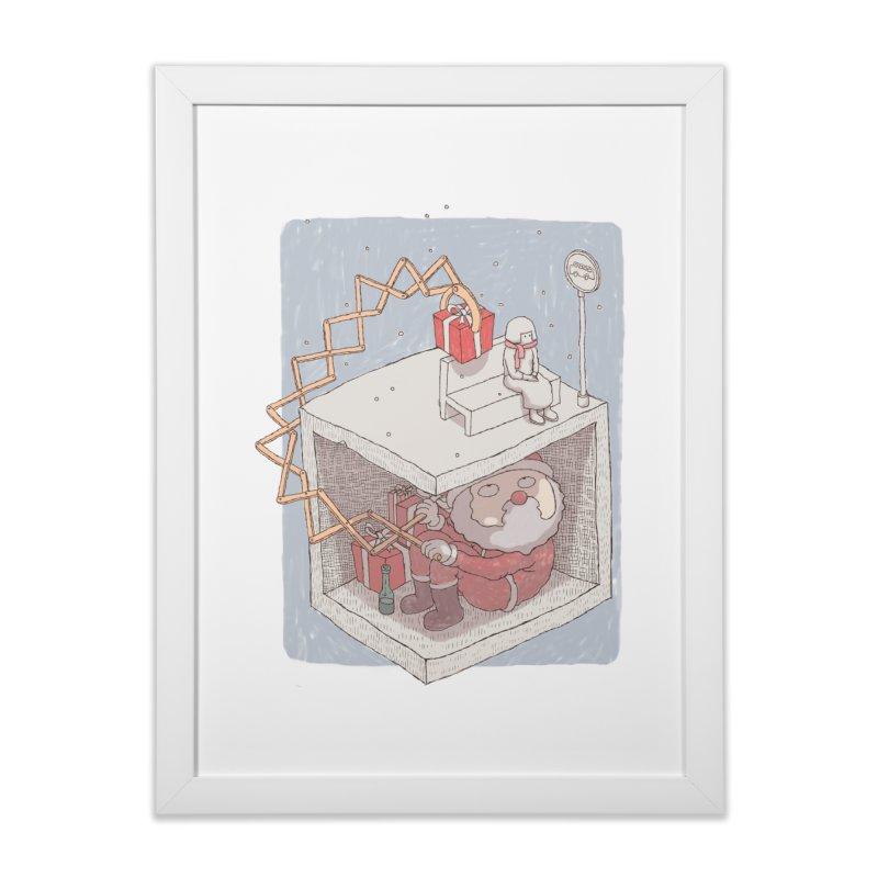 magic gift Home Framed Fine Art Print by makapa's Artist Shop