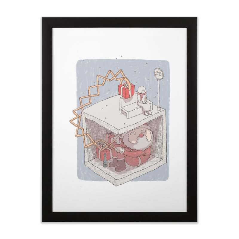 magic gift Home Framed Fine Art Print by makapa's Artist Shop