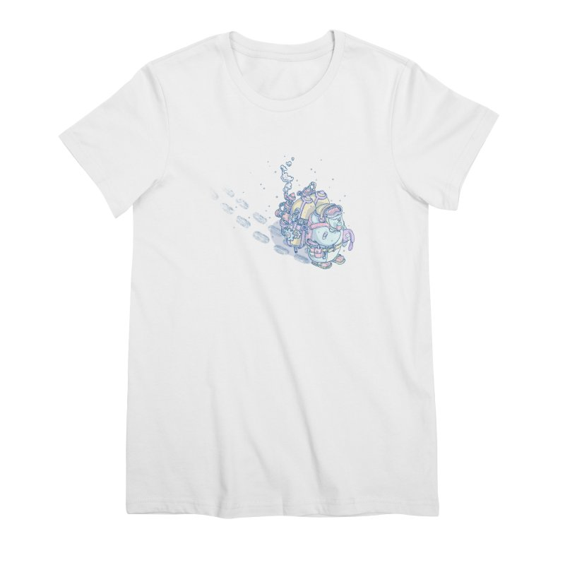 in my way Women's T-Shirt by makapa's Artist Shop