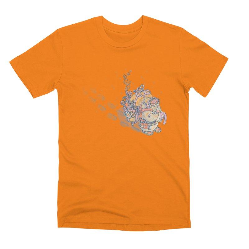 in my way Men's T-Shirt by makapa's Artist Shop