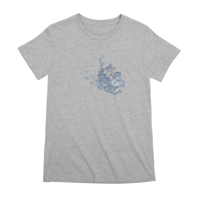 in my way Women's Premium T-Shirt by makapa's Artist Shop