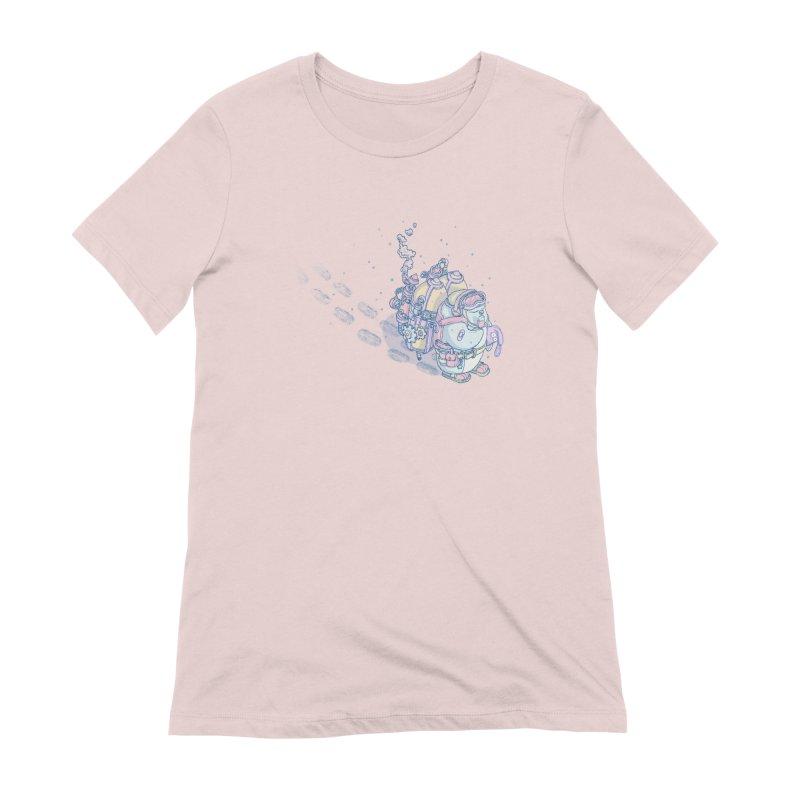 in my way Women's T-Shirt by makapa's Artist Shop