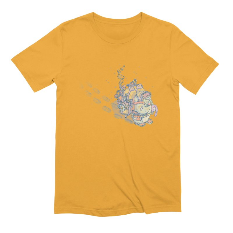 in my way Men's Extra Soft T-Shirt by makapa's Artist Shop