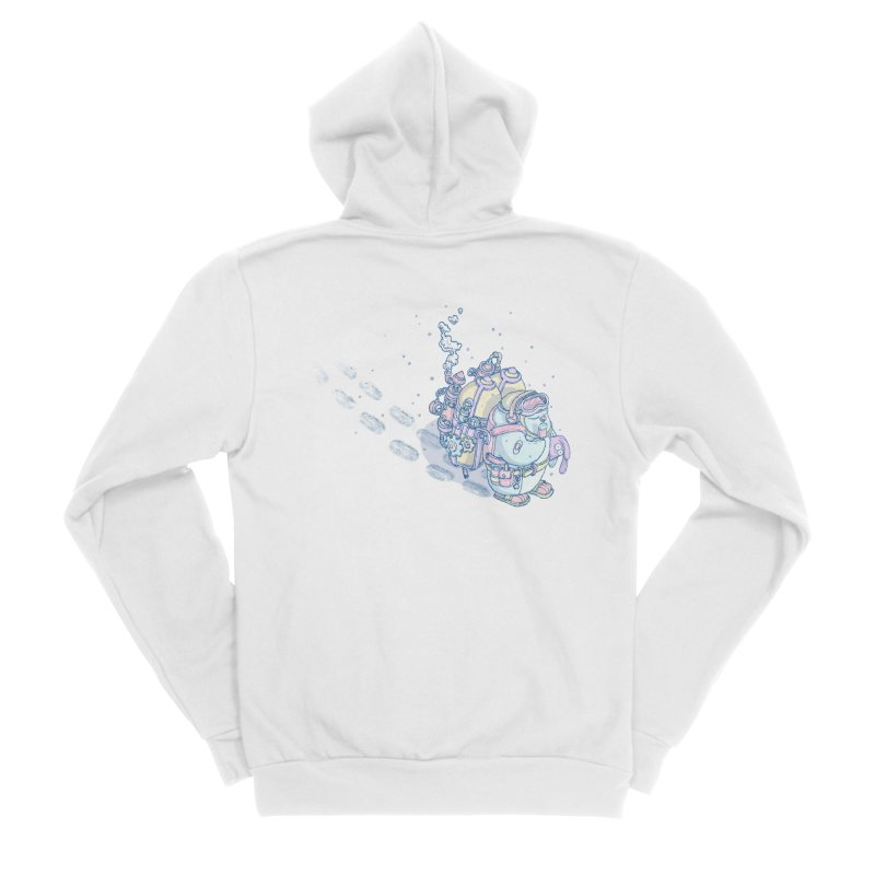 in my way Women's Zip-Up Hoody by makapa's Artist Shop