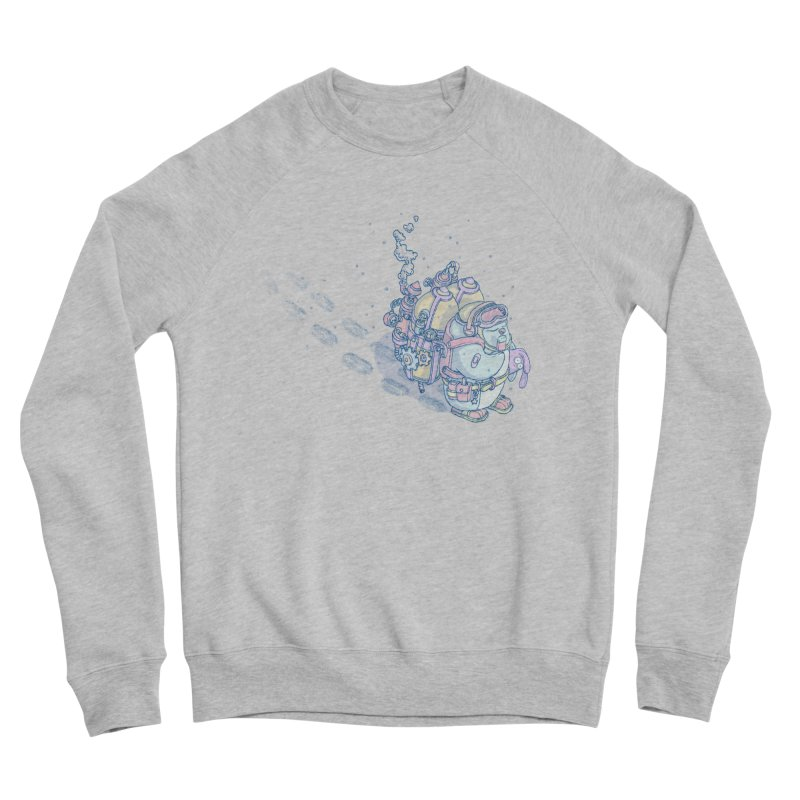 in my way Men's Sponge Fleece Sweatshirt by makapa's Artist Shop