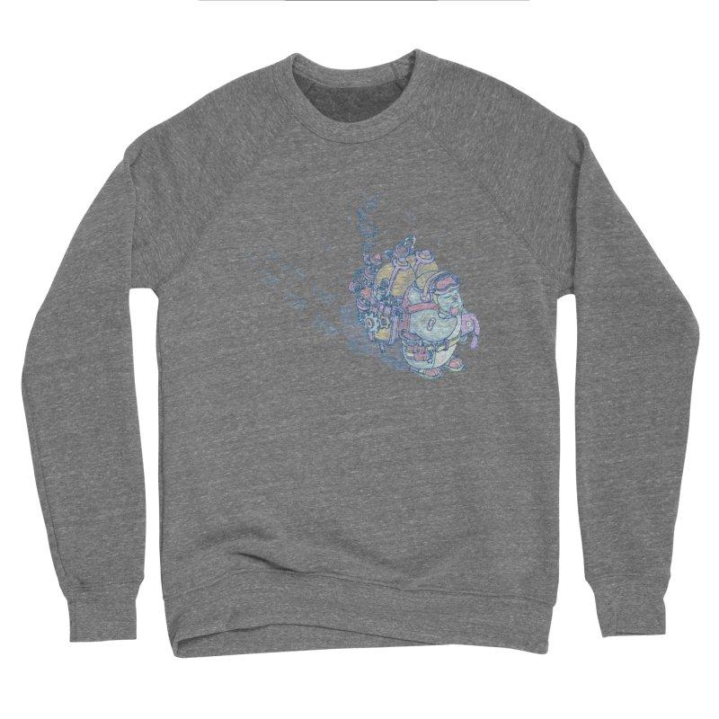 in my way Men's Sponge Fleece Sweatshirt by makapa's Artist Shop